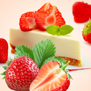 Strawberry Scented Cosmetics and Candles: Strawberry Cheesecake Fragrance Oil