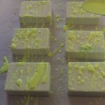 Graffiti Soap Recipe Yellow Splatter Soap