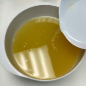 Peeps Cold Process Soap Recipe Mixing at Room Temperature