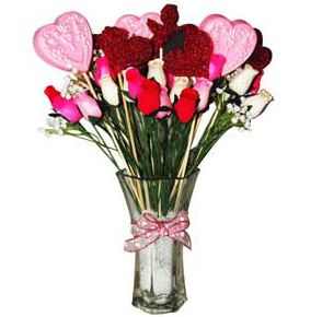 Valentines Day Soap Recipes: Valentine's Day Bouquet Recipe