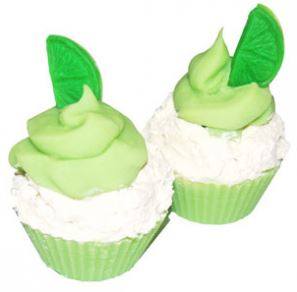 Coconut Soap Recipes: Lime Cupcake Cold Process Soap Recipe