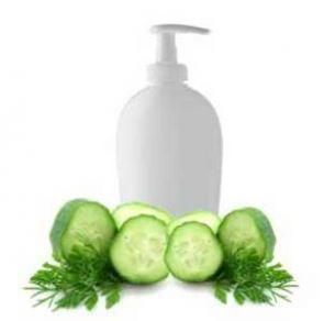 15 DIY Hair Care Recipes: Cucumber Wasabi Cilantro Hair Conditioner Recipe