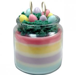 Crafts for Easter: Easter Basket Candle Recipe