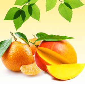 Strong Citrus Fragrance Oils Mango Tangerine Fragrance Oil