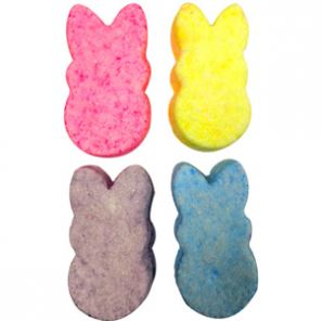 Crafts for Easter: Peeps Bunny Bath Bombs Recipe