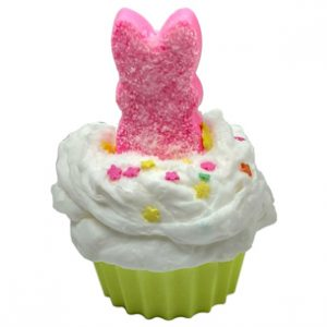 15 Ways to Use Whipped Soap Base: Peeps Bunny Cupcake Soap Recipe