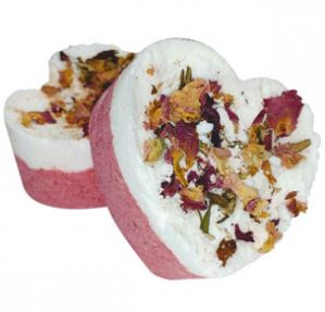 Winter Crafts for Adults: Foaming Rose Petal Bath Bombs Recipe