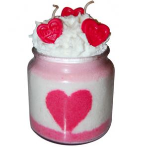 Crafts for Valentines Day: Valentines Day Candle Recipe