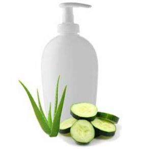 15 DIY Hair Care Recipes: Aloe Cucumber Hair Conditioner Recipe
