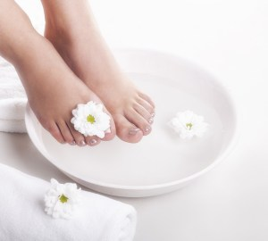 Home Spa Day Ideas Foot Pampering Products