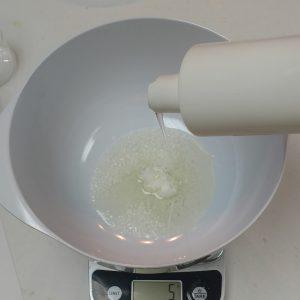 Almond Body Cream Recipe Phase 2: The Oil Phase