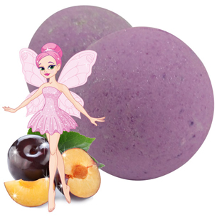 Bath Bombs for Kids Sugar Plum Bath Bomb