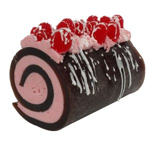 Valentines Day Soap Recipes: Chocolate Raspberry Drizzle Rolled Soap Recipe