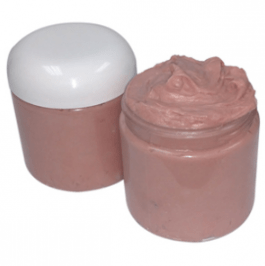 Use Cosmetic Clay in Your Recipes: Whipped Rose Clay Shaving Cream Recipe