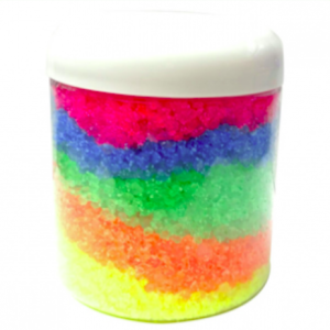Crafts for St. Patrick's Day: Rainbow Bath Salts Recipe