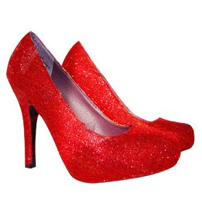 Crafts for Valentines Day: Scented Valentine Glitter Shoes Recipe
