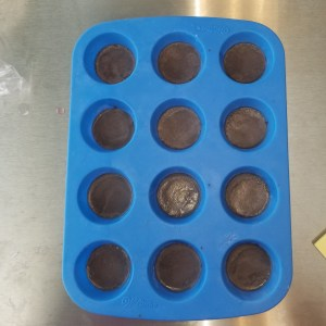 Cherry Chocolate Soap Recipe: Pouring the Bottom Layer