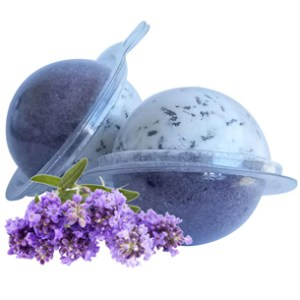 Herbal Bath Bombs from the Garden: Lavender Bath Bomb Recipe