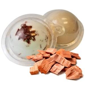 Herbal Bath Bombs from the Garden: Sandalwood Bath Bomb Recipe