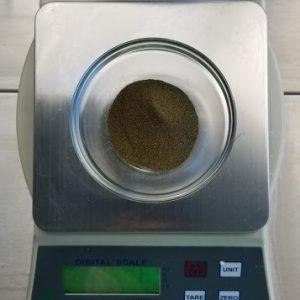 Green Tea Bath Bomb Recipe: Adding the French Green Clay and Green Tea Powder