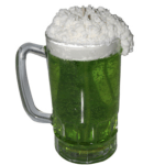 Green Beer Candle