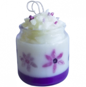 Crafts for Easter: Plumeria Candle Recipe