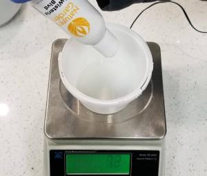 Wisteria CP Soap Recipe: Adding the Scented Oil