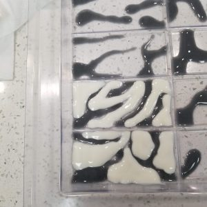 Zebra CP Soap Recipe: Filling in the White Soap