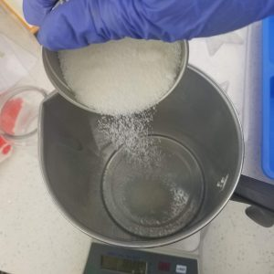 Weighing Out the Wax