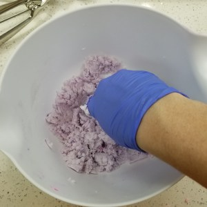 Bubble Bar Scoops Recipe: Prepare the Purple Portion