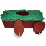 Fun Fall Crafts Football Field Candle Loaf Recipe