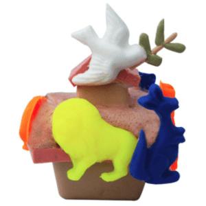 How to Use Goats Milk Soap Base: Floating Noah's Ark Soap Recipe