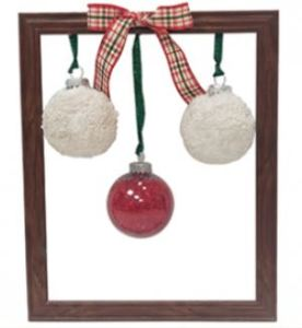 Christmas Ornament Picture Frame Recipe