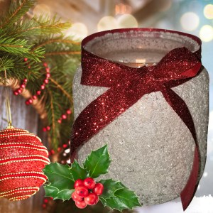 Snowy Luminary Candle Jar Recipe