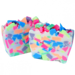 15 Easy Melt and Pour Soap Recipes: Easter Confetti Soap