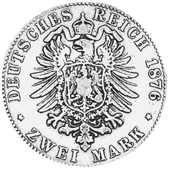 1874-1888 German States WURTTEMBERG 5 Mark KM 623 Prices