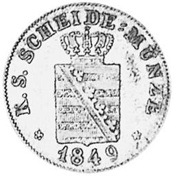1841-1856 German States SAXONY-ALBERTINE 2 Neu-Groschen