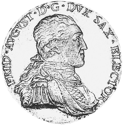 1793-1806 German States SAXONY-ALBERTINE Thaler KM 1027.2