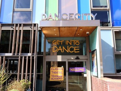 Dance City Exterior