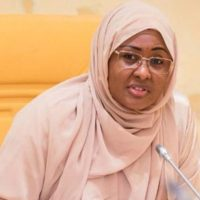 Aisha Buhari gives reason for prolonged stay in UK