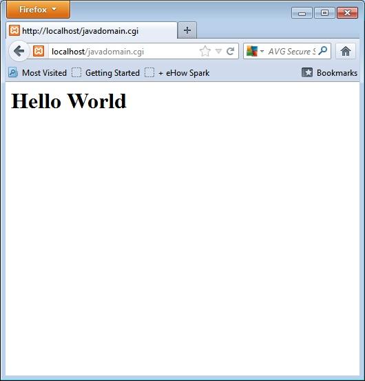 Perl Hello world CGI in xampp server – NgDeveloper