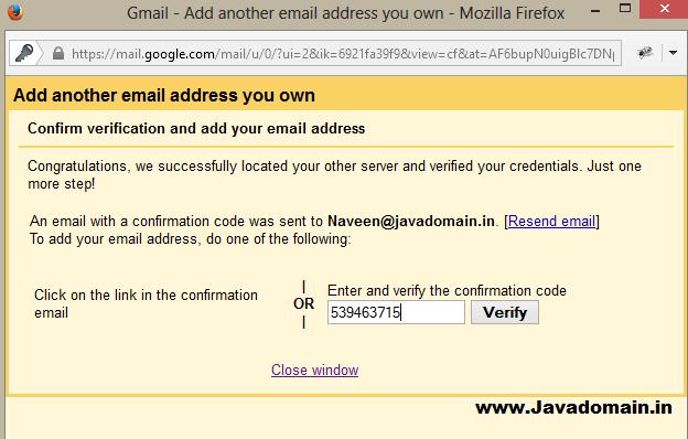 Verification code entered