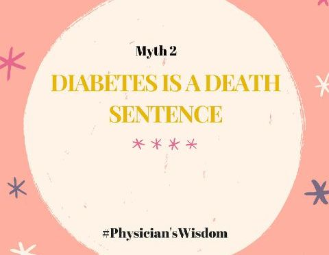 MYTH 2: DIABETES IS A DEATH SENTENCE by Opawale Damilola