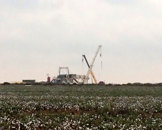 seminole, cotton patch, oil field