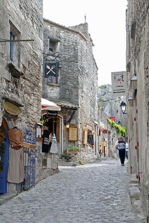 Les Baux de Provence lower village