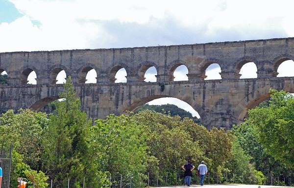 Visting the Pont du Gard, Southern France (1/6)