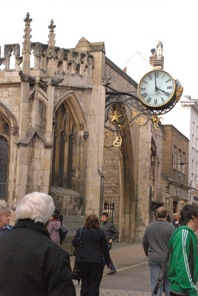 Shambling Along in York, England (1/6)