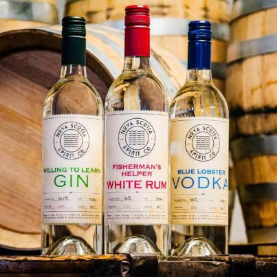 Nova Scotia Spirit Company from Trenton offers amazing local gin, white rum and vodka, buy one or ask Coleen about their gift box. The trio is handsomely crated making it a beautifully presented local gift.