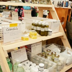 The Natural Edge has natural teas, supplements, ointments and salves as well as other bath and body products designed for him. Great stocking stuffers or make a basket! Ask Conny and sh will help you find just the right thing!