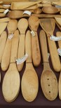 The Spoonery has great sppons and kitchenware gadgets all handmade. Speak with Matt and he will help you find the most unique kitchen tool!